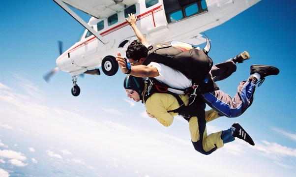 Jump out of a plane - Bucket List Ideas
