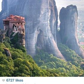 Go to Meteora Monestary in Kalampaka, Greece - Bucket List Ideas