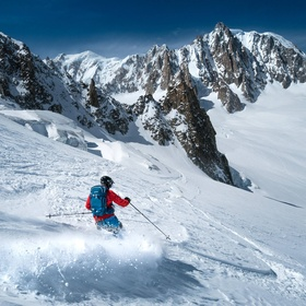 Go skiing in the Alps - Bucket List Ideas