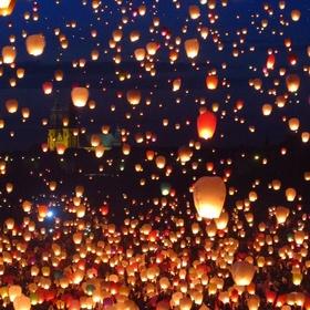 Release Floating Lanterns - Bucket List Ideas