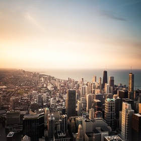 Go out on The Ledge at Skydeck Chicago Sears Tower - Bucket List Ideas