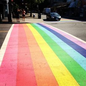 Walk the Rainbow Crosswalk in Vancouver! - Bucket List Ideas