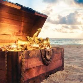 Find a Buried Pirate Treasure - Bucket List Ideas