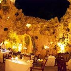 Eat at Ali Barbours Cave Restaurant - Bucket List Ideas