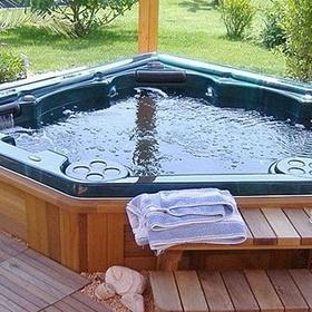 Get an outside hot tub - Bucket List Ideas