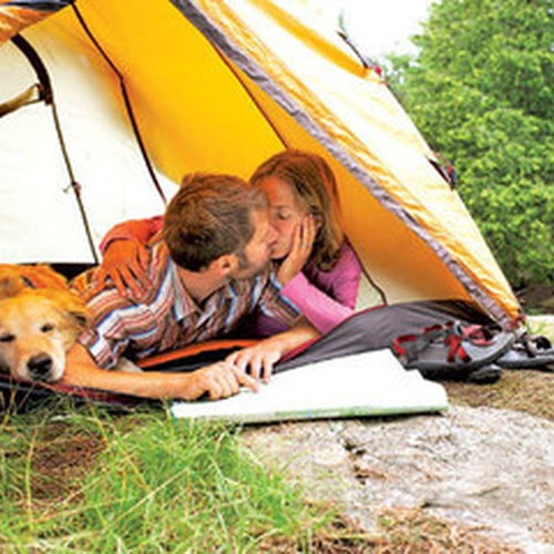 Go on a Romantic Camping Trip - Bucket List Ideas