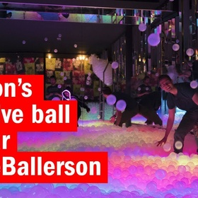 Have a Drink at The Ball Pit Bar in London - Bucket List Ideas