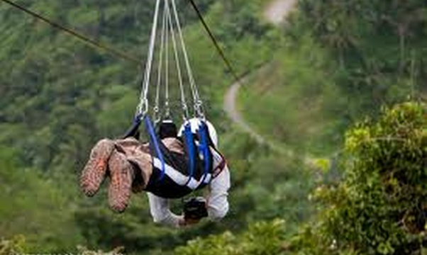 Ride a zipline - Bucket List Ideas