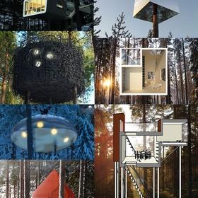 Visit the treehotel (Sweden) - Bucket List Ideas