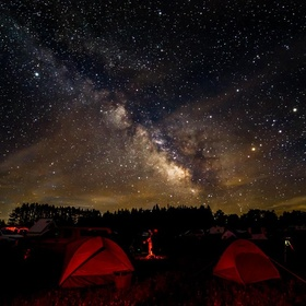 Spend the night at Cherry Springs State Park - Bucket List Ideas