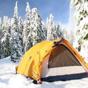 Camp in sub-zero temperatures - Bucket List Ideas