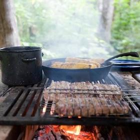Cook over an open fire - Bucket List Ideas