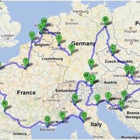Drive through europe - Bucket List Ideas