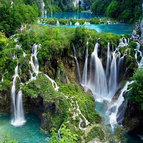 Visit the Plitvice Lakes National Park in Croatia - Bucket List Ideas