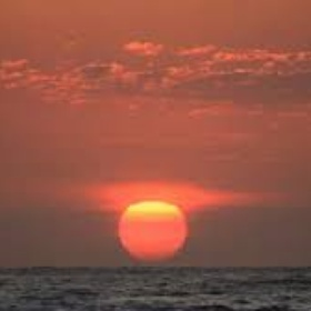 See the sun rise out of the ocean on the East coast - Bucket List Ideas