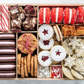 Make a holiday cookie box - Bucket List Ideas