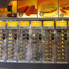 Buy a Meal From a Vending Machine - Bucket List Ideas