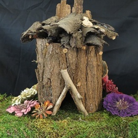 Build A Natural Materials Fairy House - Bucket List Ideas
