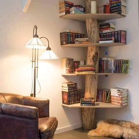 Have a wooden bookcase - Bucket List Ideas