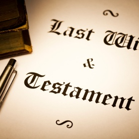Write my Last Will and Testament - Bucket List Ideas