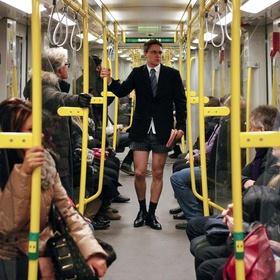 Do the No Pants Subway Ride - Bucket List Ideas
