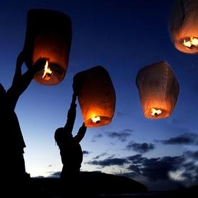 Lit a Sky Lantern - Bucket List Ideas