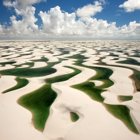 Swim in the Seasonal Lagoons at Lençóis Maranhenses National Park, Brazil - Bucket List Ideas
