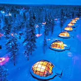 Glass Igloo Village Hotels, Finland - Bucket List Ideas