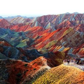 Visit the Zhangye Danxia Landform Geological Park in China - Bucket List Ideas