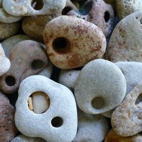 Find a witch stone (hag stone) - Bucket List Ideas