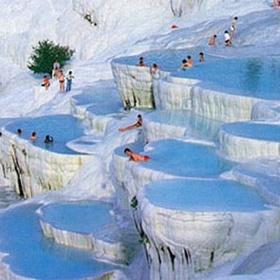 Experience the Pamukkale Hot Springs in Turkey - Bucket List Ideas