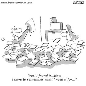 Become organized - Bucket List Ideas