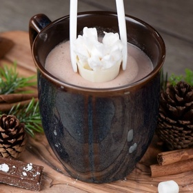 Drink a Blossoming Hot Chocolate - Bucket List Ideas