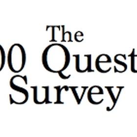 Complete The '5,000 Question Survey' Attempt #2 - Bucket List Ideas
