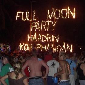 Attend the Full Moon Beach Party in Ko Pha Ngan,Thailand - Bucket List Ideas