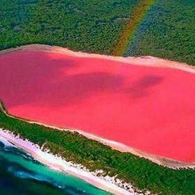 Go to the Pink Lake in Australia - Bucket List Ideas