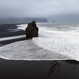 Visit a black sand beach - Bucket List Ideas