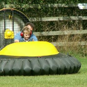 Ride in a hovercraft - Bucket List Ideas