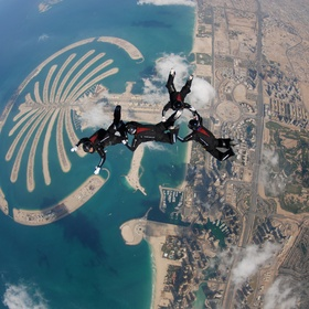 Skydive in Dubai - Bucket List Ideas