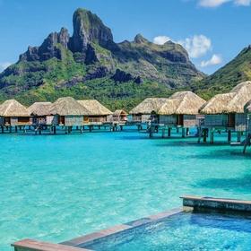 Stay in an overwater bungalow - Bucket List Ideas