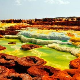 Visit Dallol Volcano, Ethiopia - Bucket List Ideas