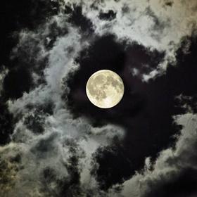 Take a full moon walk - Bucket List Ideas