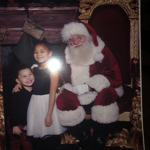 Get pics of Destiny with Santa - Bucket List Ideas