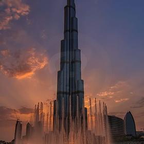 Enjoy sky high views from the tallest building in the world, the Burj Khalifa, UAE - Bucket List Ideas