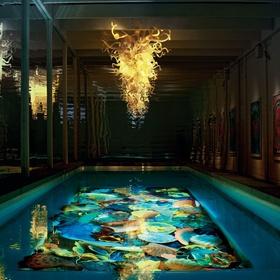 Paint a mural on the bottom of a pool - Bucket List Ideas