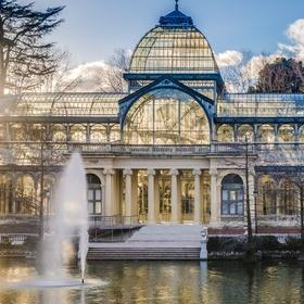 Go to the Palacio de Cristal in Madrid, Spain - Bucket List Ideas