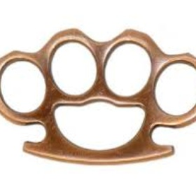 Own a pair of Brass Knuckles - Bucket List Ideas