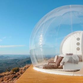 Sleep in a Bubble tent - Bucket List Ideas
