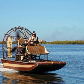 Ride on an airboat in a swamp - Bucket List Ideas
