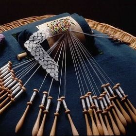 Learn bobbin lace like my granny and make handkerchiefs for my (grand)children as well - Bucket List Ideas
